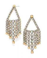 BaubleBar | Gray Diana Waterfall Drops | Lyst