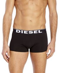 DIESEL - Black 3-Pack The Essential Trunks for Men - Lyst