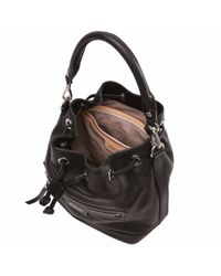 MZ Wallace - Black Leather Mini Rome - Lyst