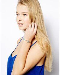 Ashiana - Green Hamsa Turquoise Gold Friendship Bracelet - Lyst