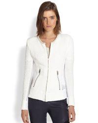 IRO - White Amiya Knit Jacket - Lyst
