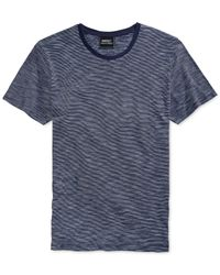 Wesc | Blue Kendy Striped T-shirt for Men | Lyst