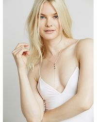 Free People - Pink Skinny Strap Bodycon - Lyst