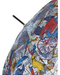 Burberry Prorsum - Multicolor Raining Cats And Dogs Umbrella - Lyst