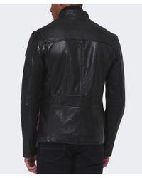 BOSS Orange   Black Jerian Leather Jacket for Men   Lyst