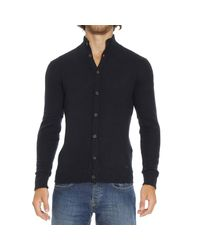 Emporio Armani - Blue Sweater for Men - Lyst