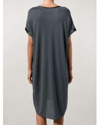 By Malene Birger - Blue Short Sleeve Shift Dress - Lyst