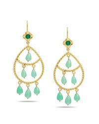 Emma Chapman Jewels | Blue Magdalen Chrysophase Boho Chandeliers | Lyst