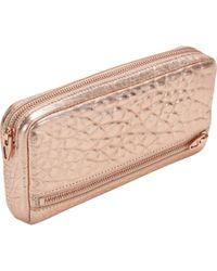 Alexander Wang - Pink Fumo Continental Wallet - Lyst