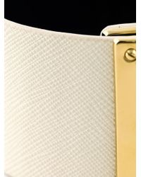 Marc By Marc Jacobs | White Buckled Cuff | Lyst