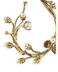Erickson Beamon   Metallic Stratosphere Faux-Pearl & Crystal Ear Cuffs   Lyst