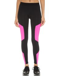 LNA | Black Active Sheild Leggings | Lyst