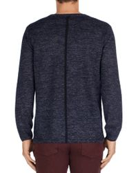 J Brand - Blue Conrad Sweater for Men - Lyst