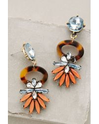 Anthropologie | Orange Tirrenu Earrings | Lyst
