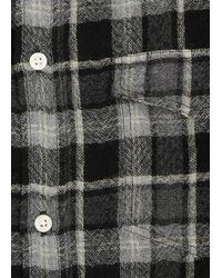J.Crew | Gray Norse Projects Lightweight Flannel Shirt for Men | Lyst