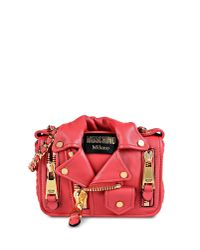 Moschino - Red Shoulder Bag - Lyst