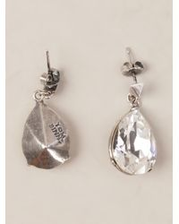 Tom Binns | Metallic Teardrop Earring | Lyst