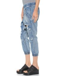 One Teaspoon - Blue Cobain Dundees Jeans - Cobain - Lyst