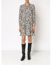 Sea - Black Daisy Print Dress - Lyst