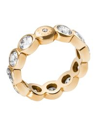 Michael Kors | Metallic Round Cut Ring | Lyst