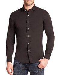 Polo Ralph Lauren - Black Slim-fit Twill Estate Sportshirt for Men - Lyst