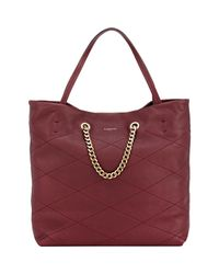 Lanvin - Purple Carry Me Lambskin Tote - Lyst