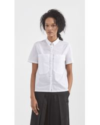 Zadig & Voltaire - White Tilna Deluxe Shirt - Lyst