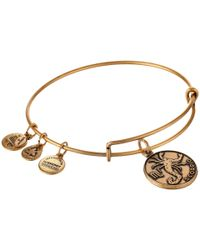 ALEX AND ANI - Metallic Scorpio Charm Bangle - Lyst