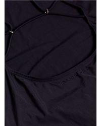 Acne Studios | Black Halla Swimsuit | Lyst