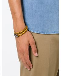 Tod's | Yellow 'my Colours' Bracelet | Lyst