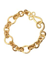 Stephanie Kantis | Metallic Coronation 24k Gold Plate Small Bracelet | Lyst