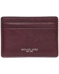 Michael Kors | Red Dylan Card Case for Men | Lyst