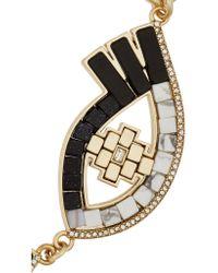 Lulu Frost - Metallic Lumen Gold-plated Multi-stone Necklace - Lyst