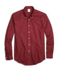 Brooks Brothers | Purple Non-iron Milano Fit Oxford Sport Shirt for Men | Lyst