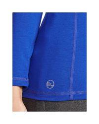 Ralph Lauren - Blue Active Long-sleeved Tee - Lyst