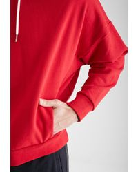 Forever 21 | Red Dolman Sleeve Hoodie for Men | Lyst