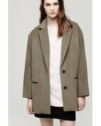 Rag & Bone - Brown Sigrid Coat - Lyst