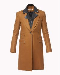 Veronica Beard | Brown Chesterfield Dickey Coat | Lyst