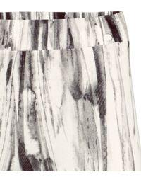 H&M   Gray Patterned Leggings   Lyst