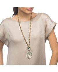 Lulu Frost | Metallic Ortigia Long Pendant | Lyst