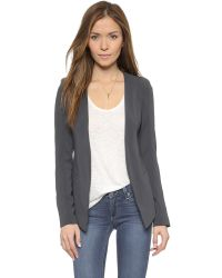 James Jeans - Gray The V Blazer - Lyst
