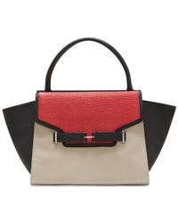 Vince Camuto | Red Jemma Satchel | Lyst