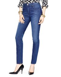 kate spade new york | Blue High Rise Jean | Lyst