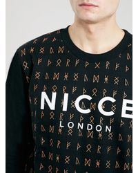 LAC - Black Nicce Bk Sweatshirt* for Men - Lyst