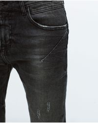 Zara | Gray Skinny Jeans for Men | Lyst