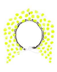 Annelise Michelson | Yellow Silicon Dots Necklace | Lyst