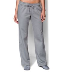 Under Armour | Gray Straight Leg Lounge Pants | Lyst