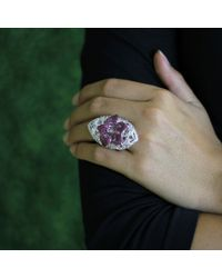 Wendy Yue | Pink And White Sapphire Ring | Lyst