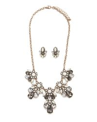 Forever 21 - Metallic Statement Jewelry Set - Lyst