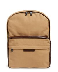 Marc By Marc Jacobs - Brown 'classic' Canvas Backpack for Men - Lyst